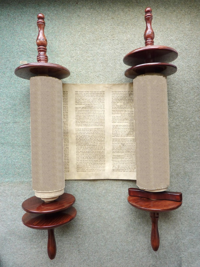 Scroll after restoration.