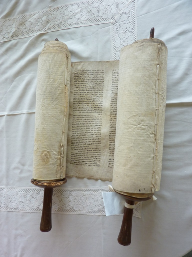 The Scroll before restoration